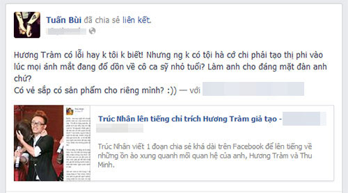 "bui anh tuan benh huong tram, ""mang"" truc nhan - 3"
