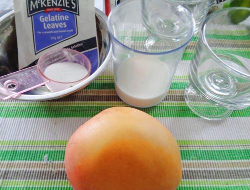 pudding xoai thom ngon, thanh mat - 1