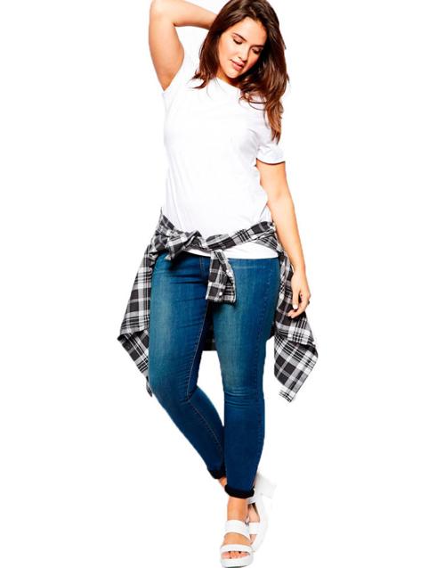 5 bi quyet mac quan jeans cho nang beo - 1