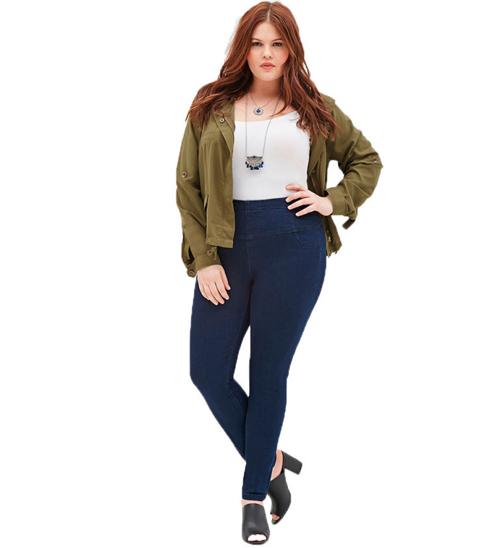 5 bi quyet mac quan jeans cho nang beo - 3