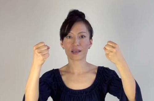 cac dong tac tre hoa bang yoga cho khuon mat (p1) - 5