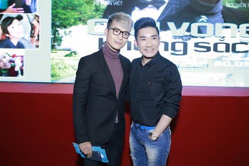 """lan phuong, cao thai son """"tang boc"""" phim dong tinh - 1"""