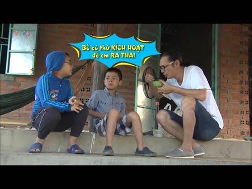 """hoang bach len facebook """"che"""" tran luc khong biet day con gioi tinh - 3"""