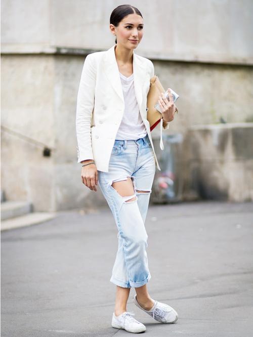 'cham mat' nhung co nang phat cuong vi jeans rach - 12