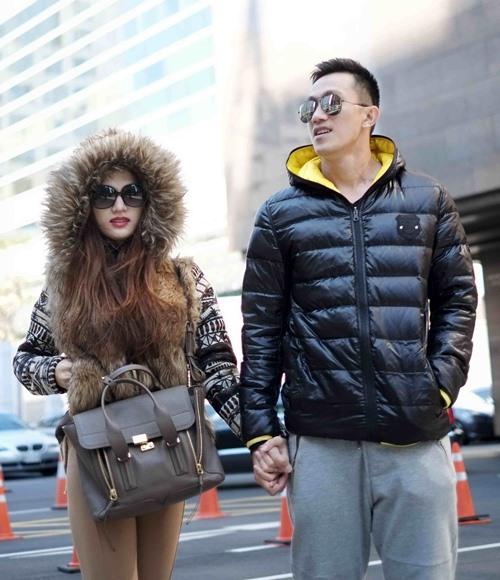 huong giang idol lang man hon ban trai tren duong pho - 2