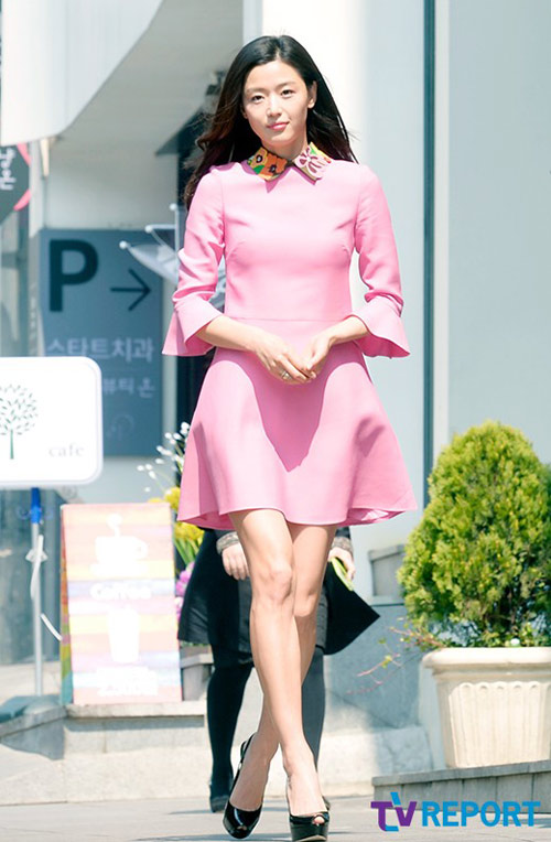 """my nu sang chanh"" jeon ji hyun lo dau goi ""cu lac"" - 5"