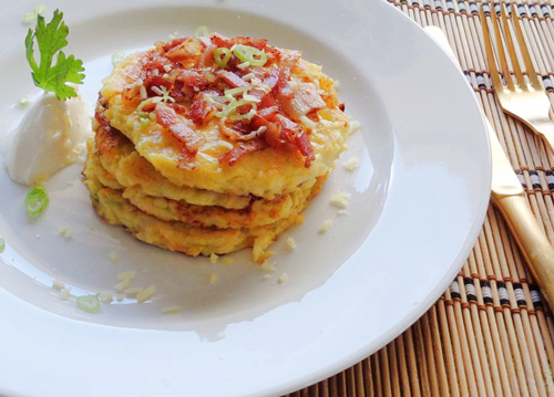 pancake khoai tay don gian cho bua sang - 7
