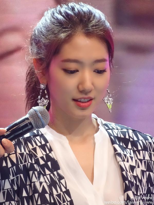 """lo lem"" park shin hye xinh nhu thien than - 3"