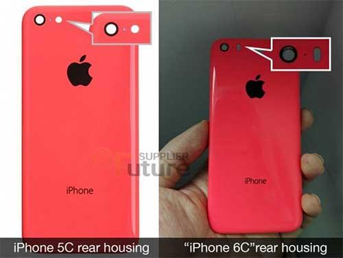Rò rỉ vỏ nhựa của iPhone 6c, cấu hình giống iPhone 5s-1