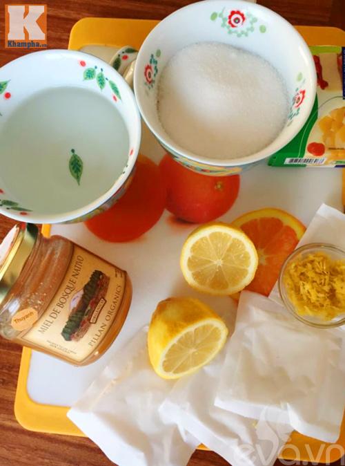 Kẹo gôm chanh mật ong thơm ngọt chua dịu-1