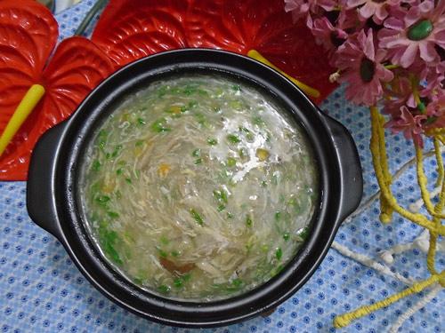 thuc don cho be hom nay: sup ga ngo non nong hoi - 5