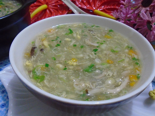 thuc don cho be hom nay: sup ga ngo non nong hoi - 6