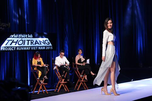 "project runway tap 3: ""hot girl"" hai yen bi loai vi gay that vong - 14"