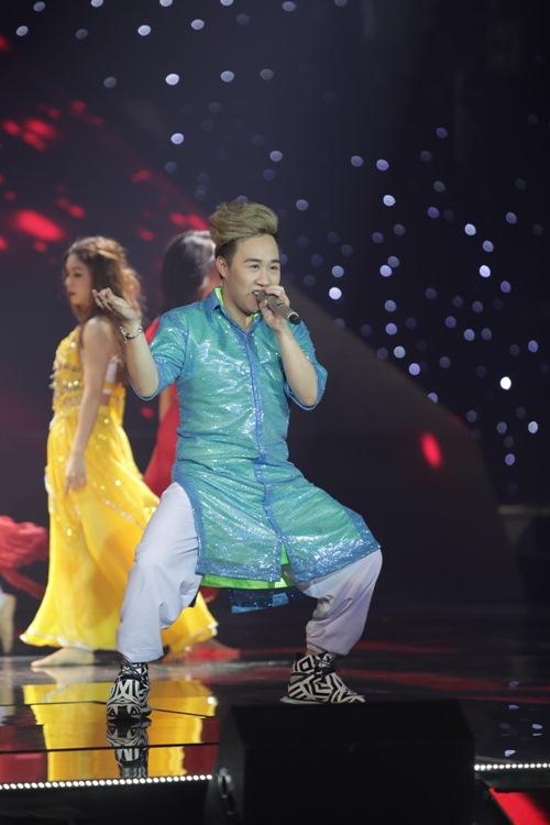 """the remix 2016: hoang thuy linh, huong tram """"dot chay"""" san khau - 14"""
