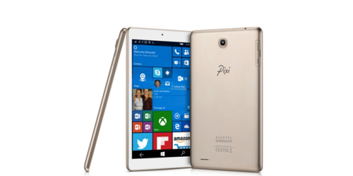 alcatel he lo tablet pixi 3 chay windows 10 mobile - 1