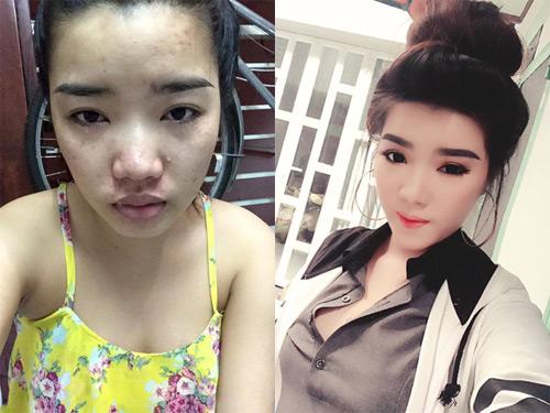 'hot girl' cong khai mat moc khien dan mang 'nga ngua' - 2