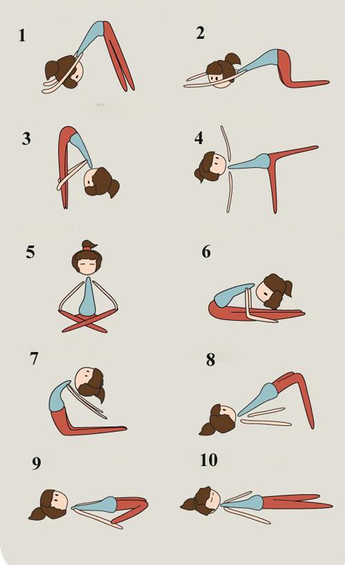 nhung dong tac yoga sieu huu ich cho dang xinh don tet - 5