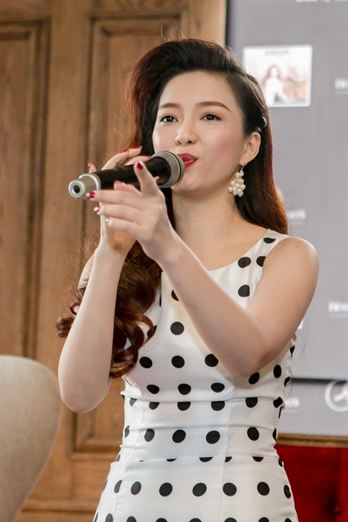 dan cuu thi sinh the voice den chuc mung dinh huong - 2