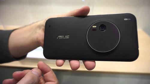asus zenfone zoom: smartphone zoom quang 3x gia 399 usd - 1
