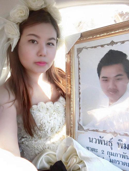 8x Thái Lan quyết kết hôn với bạn trai đã chết-4