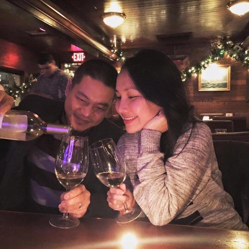 Kim Hiền đón sinh nhật ấm áp bên chồng con-2