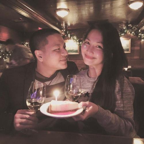 Kim Hiền đón sinh nhật ấm áp bên chồng con-3