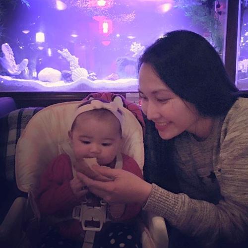 Kim Hiền đón sinh nhật ấm áp bên chồng con-5
