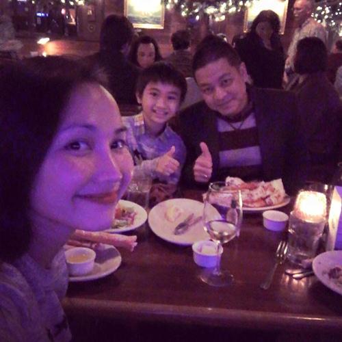Kim Hiền đón sinh nhật ấm áp bên chồng con-7
