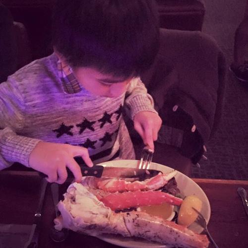 Kim Hiền đón sinh nhật ấm áp bên chồng con-6