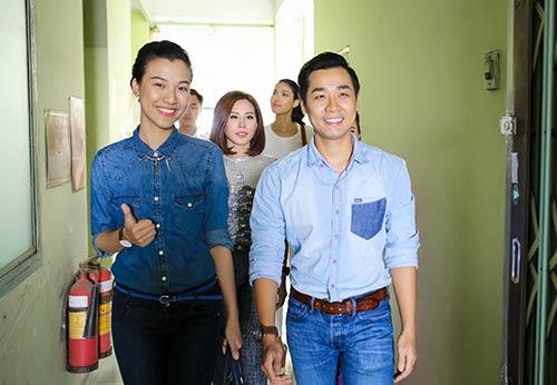 Lan Khuê, Thu Hoài, Nguyên Khang đến thăm nhạc sĩ Trần Hiếu-6