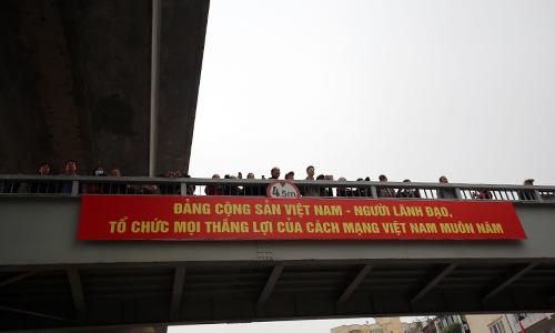Thông xe hầm chui giao lộ 4 tầng đầu tiên ở Hà Nội-12
