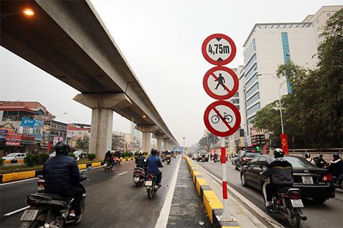 Thông xe hầm chui giao lộ 4 tầng đầu tiên ở Hà Nội-14