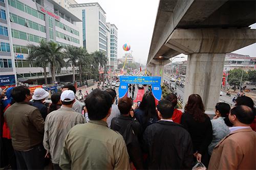 Thông xe hầm chui giao lộ 4 tầng đầu tiên ở Hà Nội-3