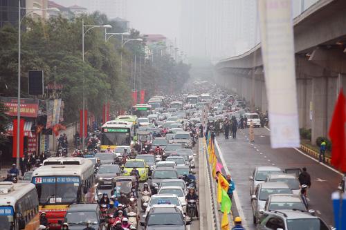Thông xe hầm chui giao lộ 4 tầng đầu tiên ở Hà Nội-6