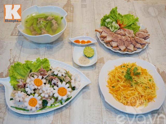 4 món ngon cho bữa cơm chiều hấp dẫn-1