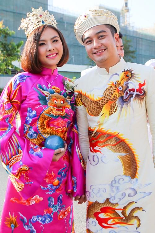 Ông xã Vân Trang đưa dàn siêu xe đi rước dâu-6