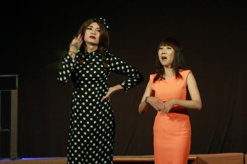 """Trịnh Kim Chi mời """"bản sao Ngọc Quyên"""" đóng kịch chuyển giới-1"""
