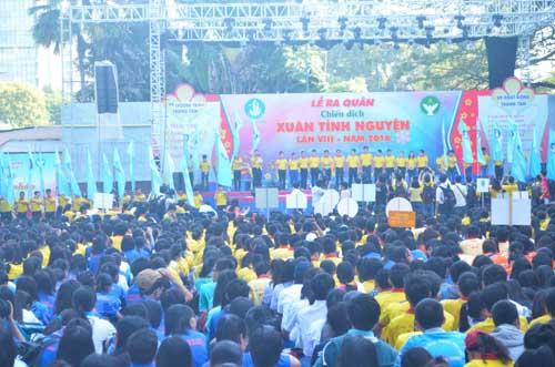 TP.HCM: Sôi nổi chiến dịch Xuân tình nguyện 2016-4