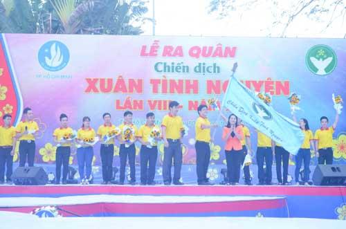 TP.HCM: Sôi nổi chiến dịch Xuân tình nguyện 2016-6