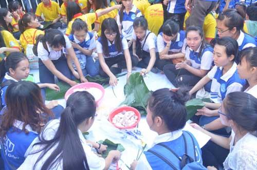 TP.HCM: Sôi nổi chiến dịch Xuân tình nguyện 2016-16