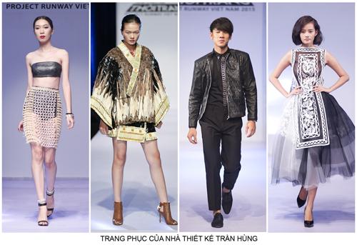 nhan dien top 9 project runway vietnam 2015 - 16