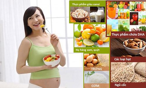3 thang dau thai ky: me khong duoc thieu chat cho thai nhi - 1