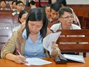 Giáo dục - Tuyển sinh ĐH-CĐ 2016: Không được đổi nguyện vọng xét tuyển?