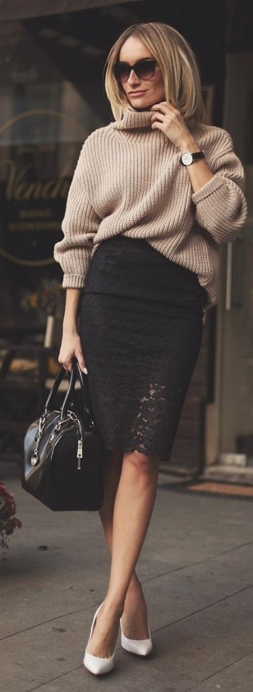 101 cách mặc áo len đẹp có thể bạn chưa biết!-10