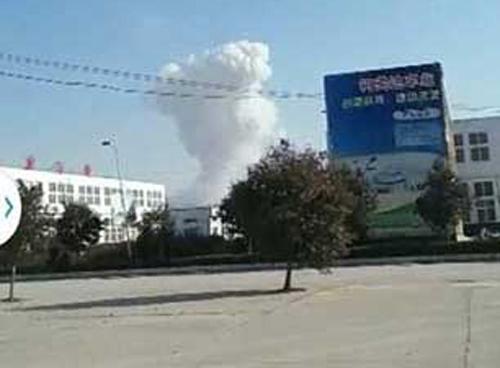 Nổ lớn ở nhà máy pháo hoa Trung Quốc, 12 người thương vong-2