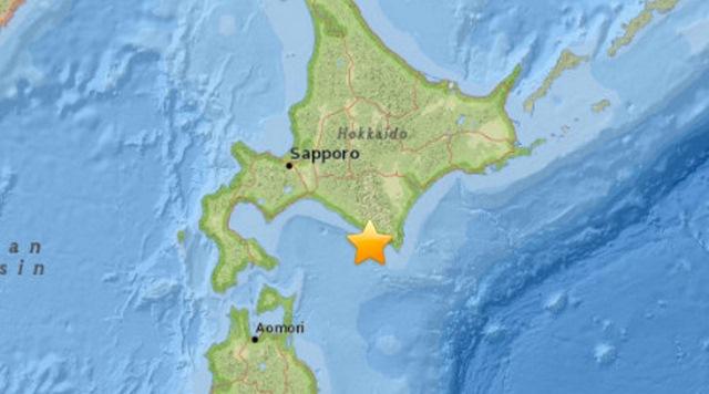 Động đất 6,7 độ richter tấn công Nhật Bản-1
