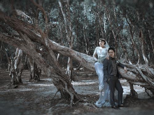 Ảnh cưới lãng mạn của Trang Nhung và ông xã đại gia-12