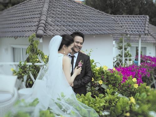 Ảnh cưới lãng mạn của Trang Nhung và ông xã đại gia-3
