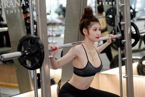 ngam 'nu than phong gym' co than hinh chuan nhu tac - 1