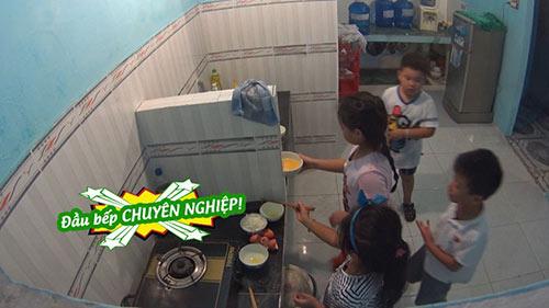 Tập 32 Bố ơi mùa 2: Con gái Thuý Hạnh trổ tài nấu cơm trứng cực đảm-13